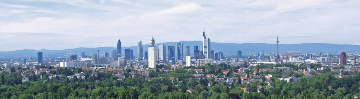 Bild der Skyline Frankfurt a. Main